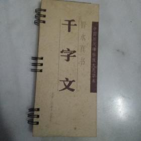 中国历代碑帖放大选字本:智永真书 千字文