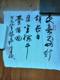 陈佩秋书法(疑似水印)