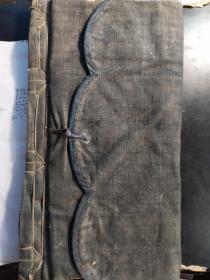 山东曹州木版年画 福本子 清代空白皮棉老纸(37张 尺寸36.3x20cm) 113号(已替代106售出)