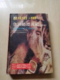 正版 鲁滨逊漂流记 (全译本 英汉对照) 中英文阅读 一书两用
