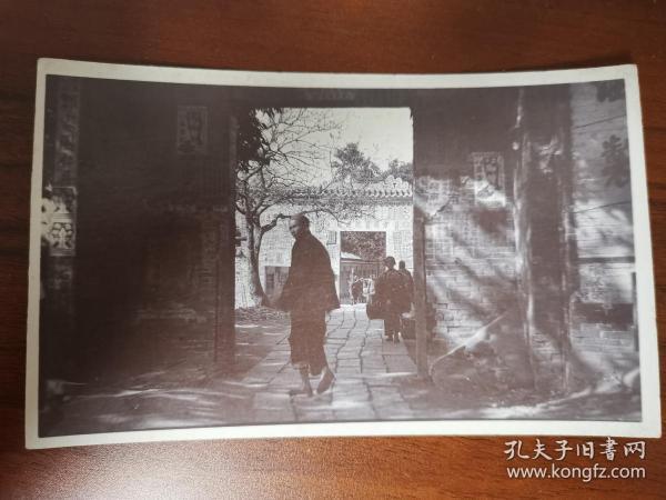 清末广东广州一带方便医院通津老照片明信片一张