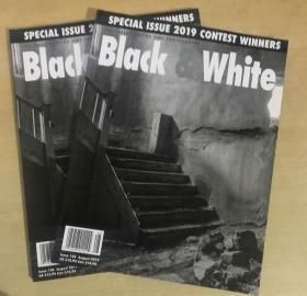 black white 2019年8月 黑白色艺术摄影英文杂志