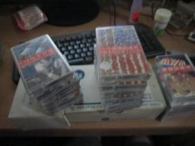 英语磁带:美国风情录6盒 + 一个国家的成长6盒 + 美国历史漫谈3盒 + 时事英语成语2盒 + 美国成语俗语6盒 + 空间与人11盒  共34盒  (正版现货)