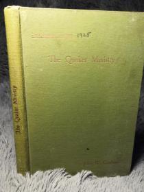 1925年  THE QUAKER MINISTRY    毛边本