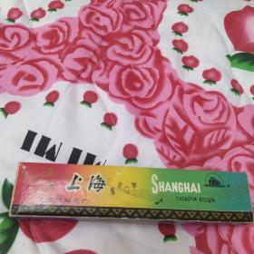 老上海牌重音口琴 外包装盒完好,口琴品相好