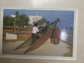 古炮台--云项高原明信片