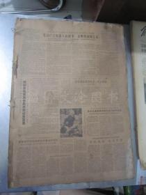 老报纸:光明日报1966年2月合订本(1-28日全)【编号10】