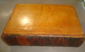 1851年- THE WORKS OF HENRY FIELDING《亨利•菲尔丁全集》全插图本 全小牛皮善本1册全 大量铜版画插图 超大开本一册全 增补插图