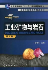 工业矿物与岩石马鸿文三版马鸿文化学工业出版社正版