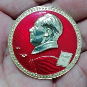 毛泽东选集毛主席像章