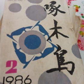 啄木鸟1986年第二期。 本期有王朔的小说。一半火焰一半是海水。