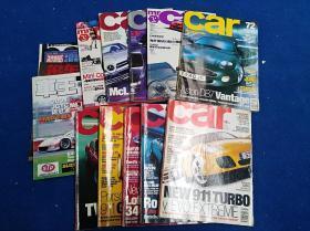 汽车类原版杂志一堆十多本