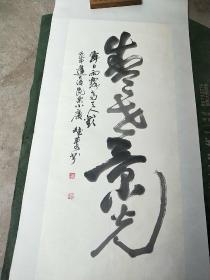 湖北著名书法家杨斌庆书法