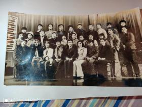 老照片:六十年代文艺界老照片(25cm×14cm)