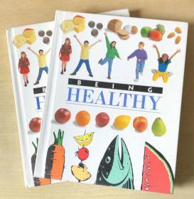 BEING HEALTHY 健康身体 英文版饮食料理美食菜谱