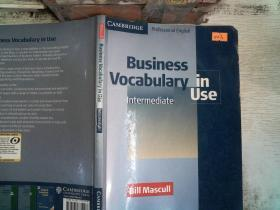 Business Vocabulary in Use:Intermediate