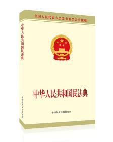 中华人民共和国民法典 公报版
