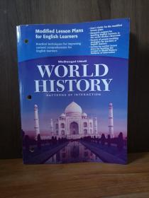 WORLD HISTORY, PATTERNS OF INTERACTION: MODIFIED LESSON PLANS FOR ENGLISH LEARNERS
