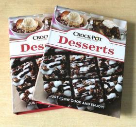 Crock Pot Desserts 慢炖锅食谱 甜品 西餐美食烹饪技巧美食菜谱  甜品糕点的做法技巧 【精装128页】