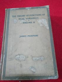 THE THEORY OF FUNCTIONS OF REAL VARIABLES VOLUME II  实数函数论 第二卷