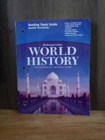World History Patterns Of Interaction (Reading Study Guide - Spanish Translation)