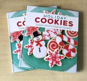 Holiday Cookies 节日甜点制作造型饼干经典烘焙技巧食谱美食菜谱  详细的饼干烘焙技巧及做法【平装192页】