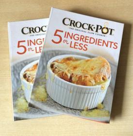英文Crock Pot 5 Ingredients or Less 慢炖锅食谱 西餐烹饪技巧及制作方法 美食菜谱