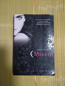 英文原版书 Marked (House of Night, Book 1) Paperback – May 1, 2007 by P. C. Cast  (Author)