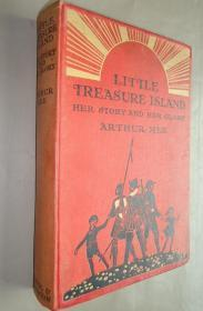1924年Little Treasure Island 著名少儿历史读物《小小宝岛:英国史回顾》珍贵初版本 大量精美彩色插图