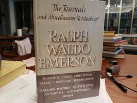 The Journals and Miscellaneous Notebooks of Ralph Waldo Emerson