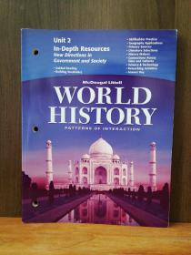 Unit 2 In-Depth Resources New Directions In Govenrment And Scoiey World History Patterns Of Interaction