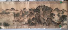 山水画(仿古工艺画)