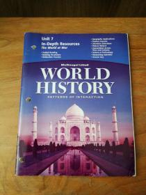 World History Patterns Of Interaction Unit 7 In-Depth Resources The World At War