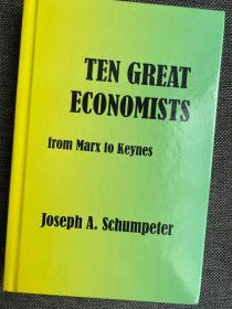 全新 Ten Great Economists 现货