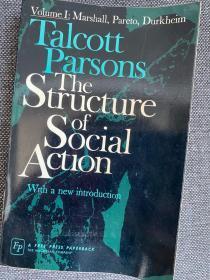 现货 The Structure of Social Action, Volume I