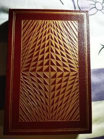 1991年诺贝尔文学奖得主,南非女作家戈迪默,顶部刷金头层皮面限量签名本《跳跃》
