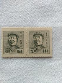 华东人民邮政主席像