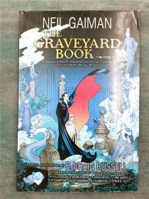 The Graveyard Book volume 1 墓地图画小说 坟场之书