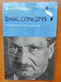 Basic Concepts  Martin Heidegger 马丁 海德格/海德格尔 英文原版