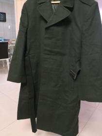 07武警军官常服羊绒大衣