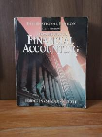 Introduction To Financial Accounting (Prentice Hall Series In Accounting)