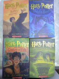 Harry Potter and the Goblet of Fire(四本合售)