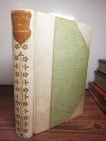 1903年  POEMS BY ADAM LINDSAY GORDON   插图版   牛皮书脊    书顶刷金
