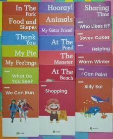 斑马英语   绘本  21本