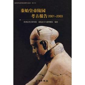 秦始皇帝陵园考古报告(2001-2003) 正版 陕西省考古研究院秦始皇兵马俑博物馆 编著 9787501019847