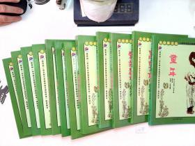 初中生语文新课标必读丛书 童年、昆虫记、爱的教育 等12本合售