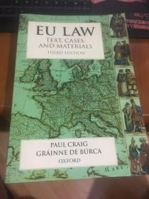 EU LAW TEXT CASES AND MATERIALS 【英文原版】
