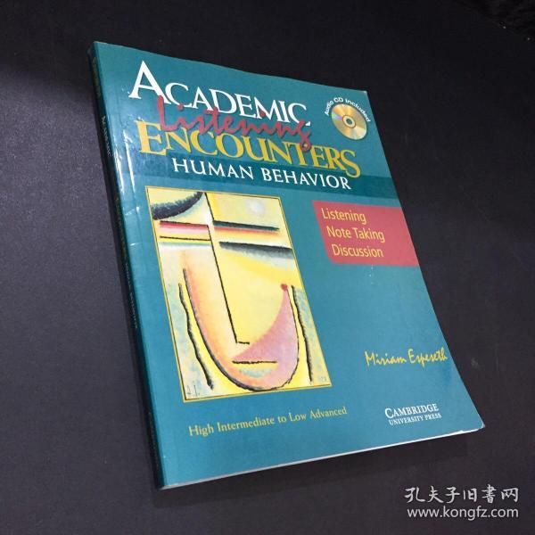 HumanBehavior:Listening,NoteTaking,andDiscussion[WithCD]