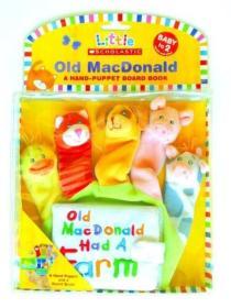 Old Macdonald: A Hand-Puppet Board Book (Little Scholastic)  老麦克唐纳拇指偶布书