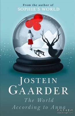 预售挪威大师级作家乔斯坦贾德the world according to anna jostein gaarder